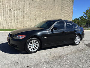 2008 BMW 3 Series Leather/Roof/Loaded/Certified and E-Tested