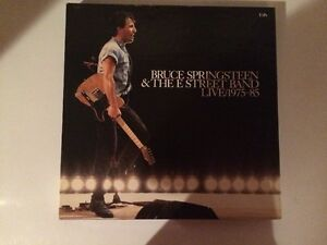 Bruce Springsteen & The E Street Band Live 1975-85 Vinyl