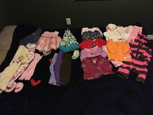 Baby girl 6-12 months clothes in excellent used condition