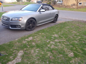 2011 silver grey audi s5 convertible Cabriolet low mileage