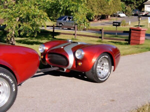 AC COBRA Trailer, OR make it into your garage auto art