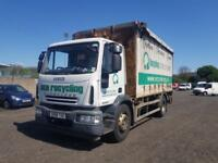 2008 58 Plate Iveco Eurocargo Curtain Side Box Lorry 18 TONE