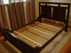 Double bed by Durham $350