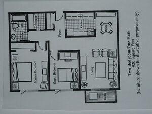 New reno- Adult Building- No Pets- No Smoking - Available Nov.
