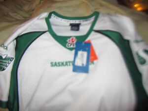 Saskatchewan Roughriders  Football Team Jersey New With Tags