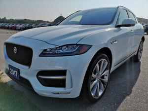 2017 Jaguar F-Pace R-Sport. Low mileage. Lowest Price ANYWHERE!!