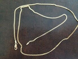 Gold chain 9ct Star Link 61 cm length