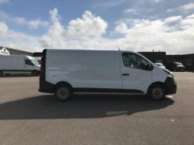Vauxhall Vivaro L2 H1 2900 1.6 115PS EURO 5 DIESEL MANUAL WHITE (2016)