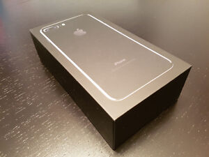 [Bell] Brand New iPhone 7 plus 128 GB jet black, BNIB Downtown-West End Greater Vancouver Area image 1