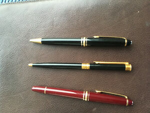Montblanc Pens used