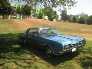 Ready for spring Cruising 1967 Olds Cutlass
