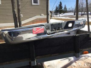 Rear bumper for Dodge Ram 04-09