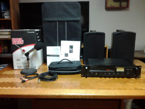 PA Amplifier System $250 Firm
