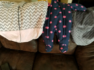 Carseat covers/snowsuit Baby girl clothes