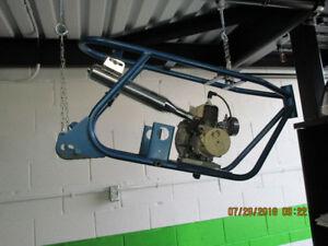 Kawasaki Coyote Frame