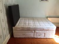 Silent night bed and mattress