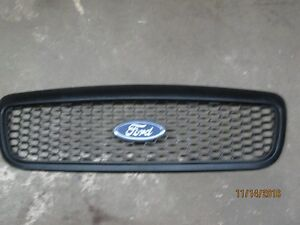 2009 crown vic black grill