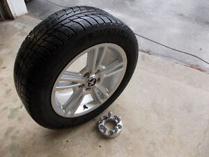 Mustang rims, winter tires and wheel spacers