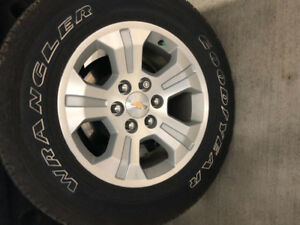 Set of Silverado wheels