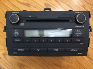 2010 Toyota Corolla CD MP3 Player Radio Receiver