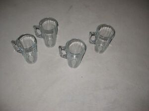 4 Glass Latte Glasses - $5.00 obo Kitchener / Waterloo Kitchener Area image 2