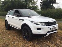 2012 Range Rover evoque pure tech 4x4 overfinch