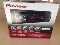 Pioneer portable car stereo