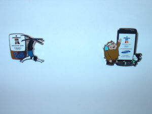 2010 VANCOUVER WINTER OLYMPIC'S COLLECTOR PIN's.