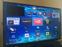 """Smart LED tv 40"""" 101 cm Samsung full HD."""