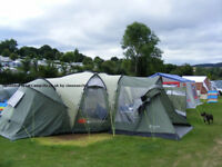 hartford l outwell 6 to 8 man tent