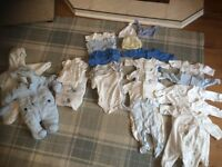 Small newborn baby boys clothes