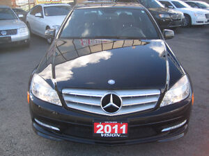 2011 Mercedes-Benz C-Class C250 4matic Sedan