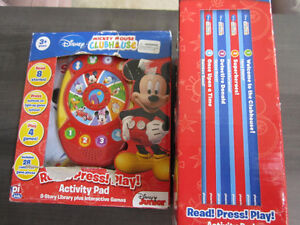 Disney's Mickey Mouse Clubhouse Read,Press,Play, NEW in box Kitchener / Waterloo Kitchener Area image 1