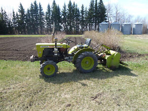 1978 FWA Yanmar Tractor with Attachments
