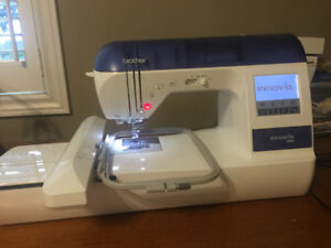 Innovis 1000 Embroidery/Sewing machine with lots of extras!!!