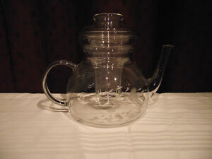Princess House Heritage Crystal Teapot with Infuser Edmonton Edmonton Area image 1
