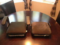 2 BOOSTER SEATS perfect condition!