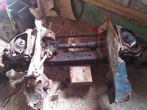 suspention mustang 2 pour hotrod ou autre power stering et piece