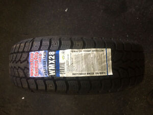 CLEARANCE: 205/55/15 Winter Claw Tires - $75
