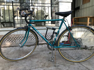 Vintage Road Bike with new tires and brakes