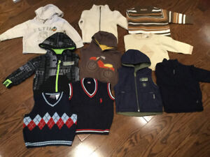 Boys toddler clothes 12-18 months 33 items for 65