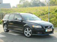 2011 11 VOLVO V50 2.0D D3 150PS R-DESIGN WITH SATNAV+KEYLESS ENTRY & GO+PDC++