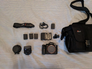 Sony  A7SII  camera  kit top condition