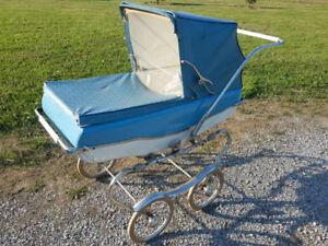 Vintage 1955 Lloyd carriage pram stroller