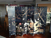 Paravent chinois antique / Antique Chinese Screen