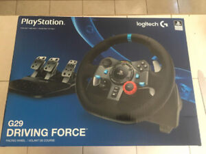 New Logitech G29 Racing Wheel for PlayStation/PC