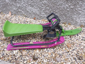 OBO - Deluxe Sled for Kids with Steering wheel.