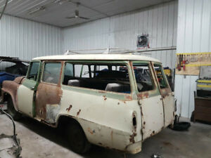 1959 International Harvester Travelall Curved Glass & Parts