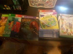Leap Frog Reader Pen, Books and game.