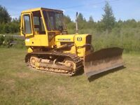 JOHN DEERE 450C DOZER AND WINCH